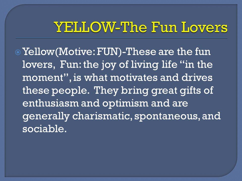YELLOW-The Fun Lovers