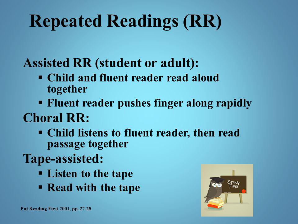 Repeated Readings (RR)
