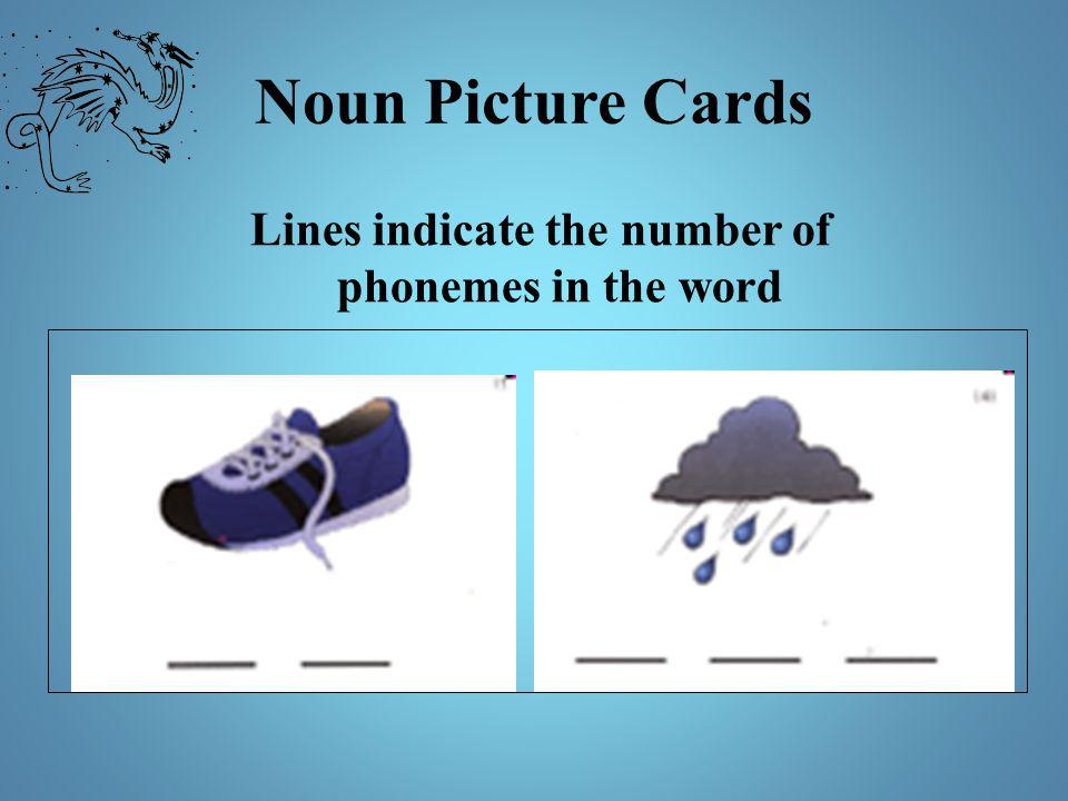 Lines indicate the number of phonemes in the word
