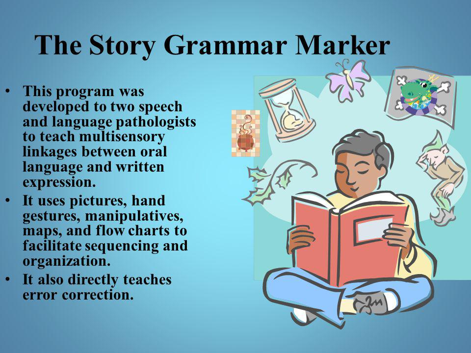 The Story Grammar Marker