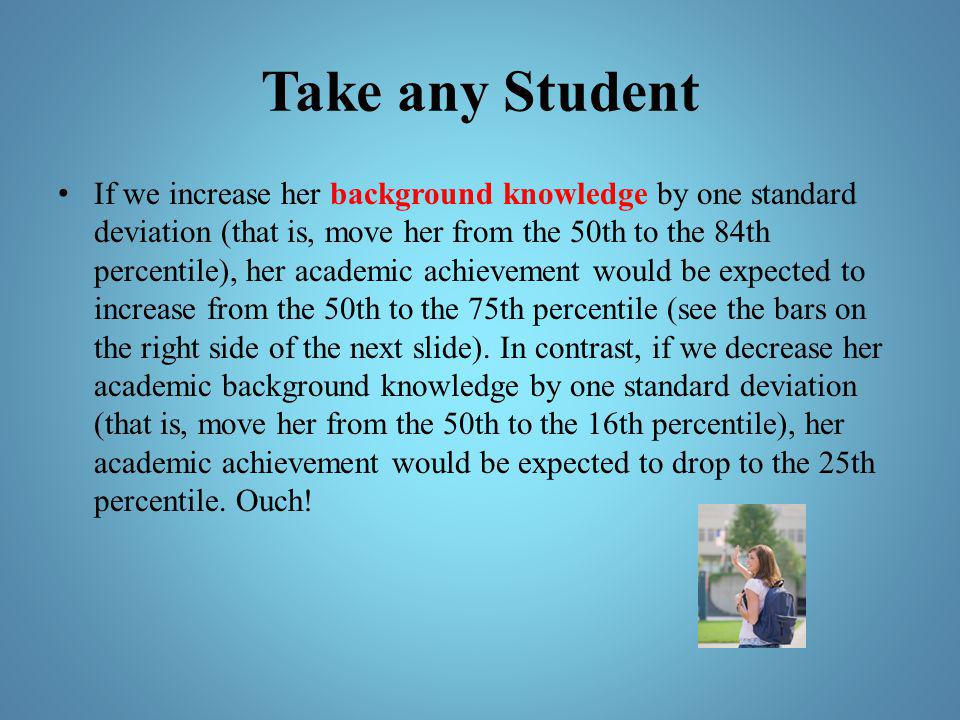 Take any Student