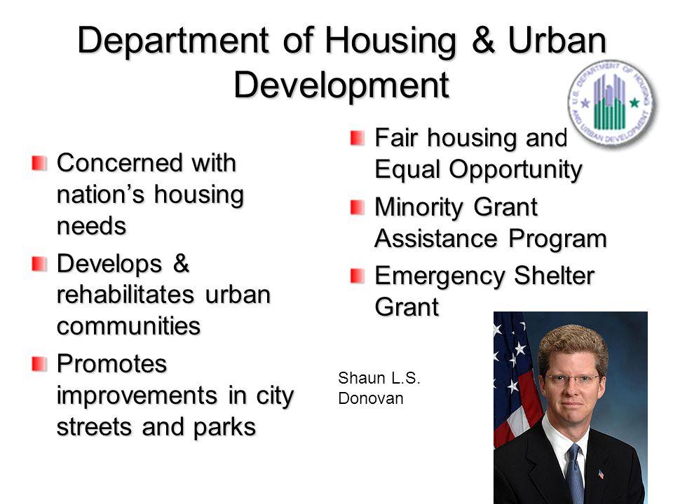 Department of Housing & Urban Development