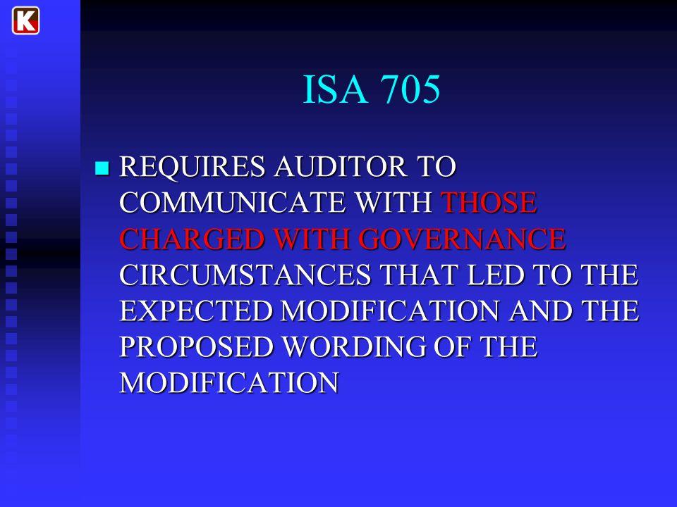 ISA 705