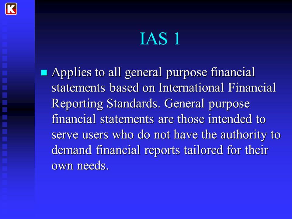 IAS 1