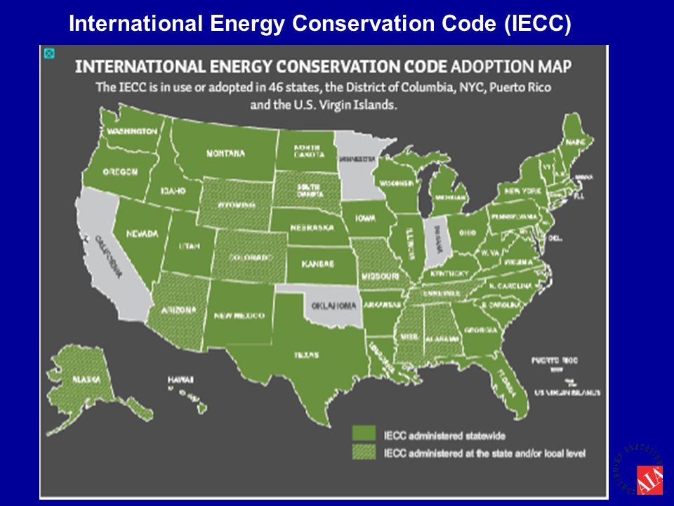 International Energy Conservation Code (IECC)