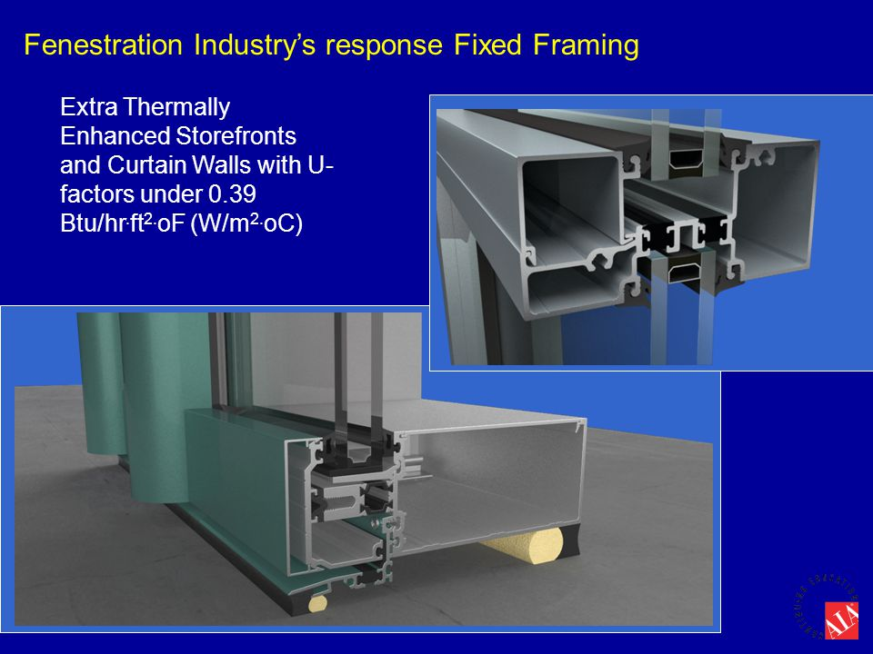 Fenestration Industry's response Fixed Framing
