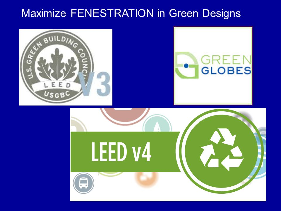 Maximize FENESTRATION in Green Designs