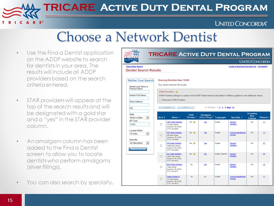 Choose a Network Dentist