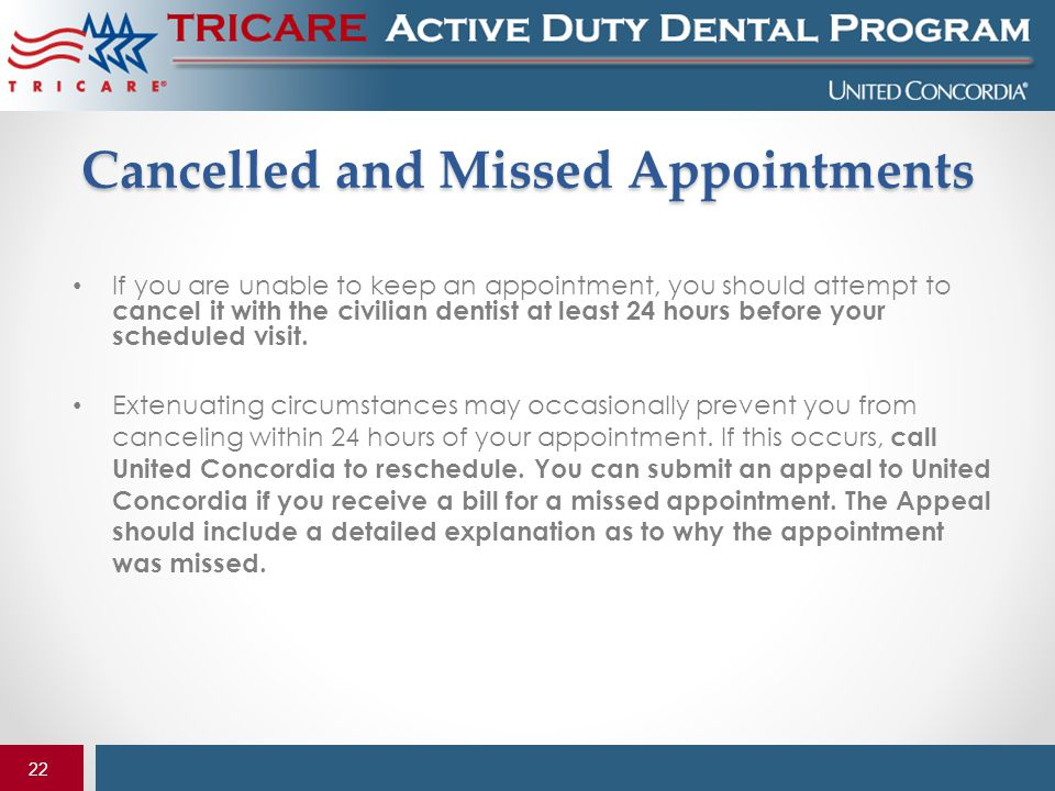 Cancelled and Missed Appointments