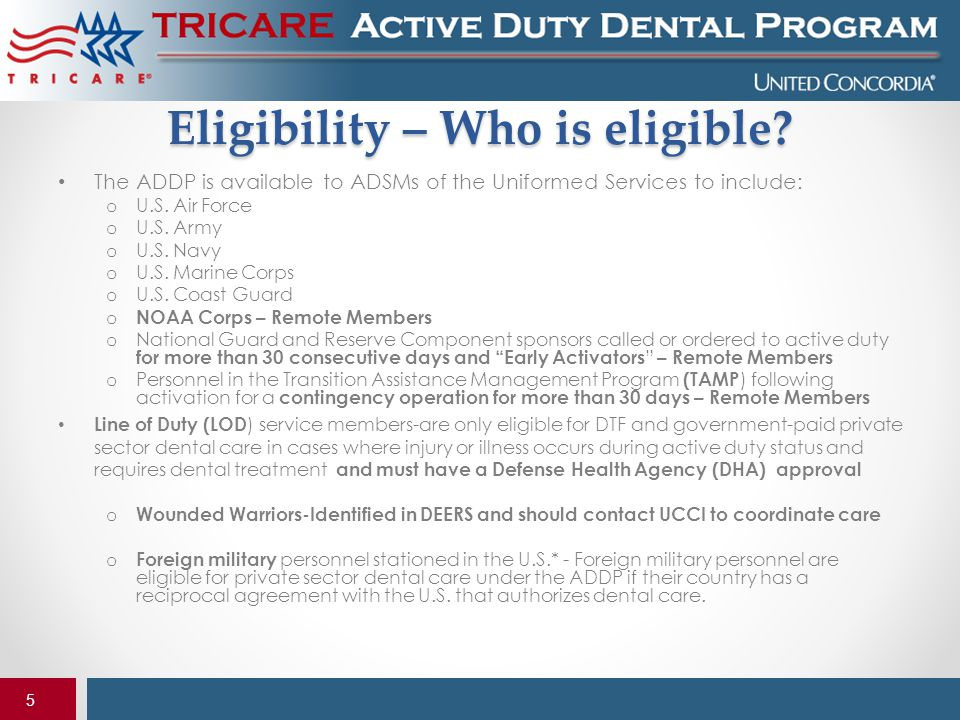 Eligibility – Who is eligible