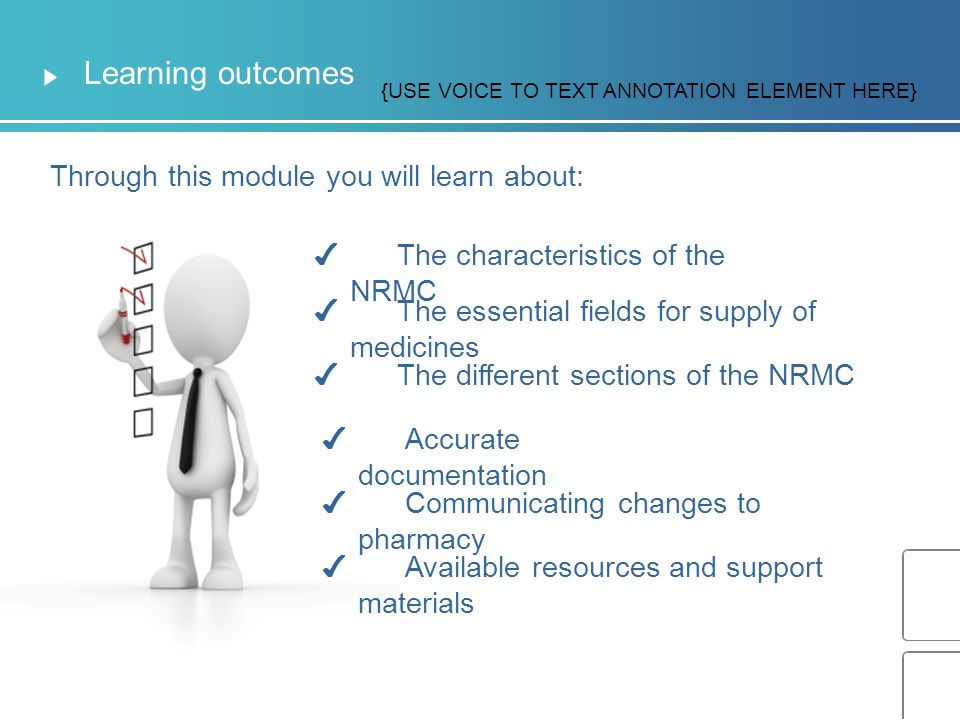 Learning outcomes Through this module you will learn about: