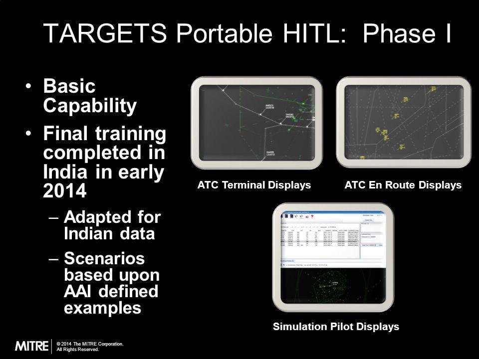 TARGETS Portable HITL: Phase I