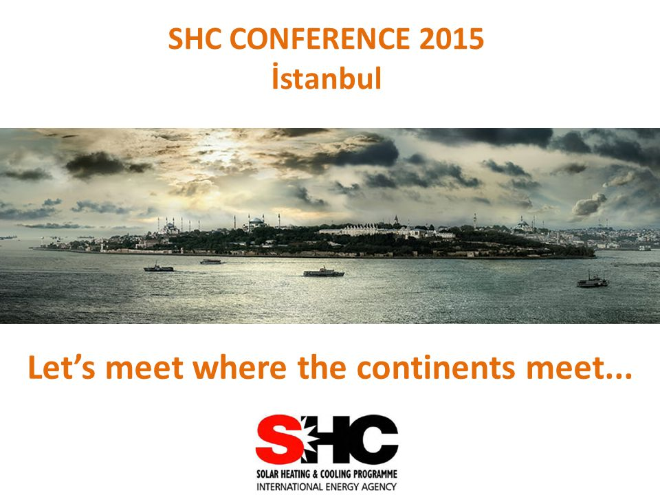 SHC CONFERENCE 2015 İstanbul