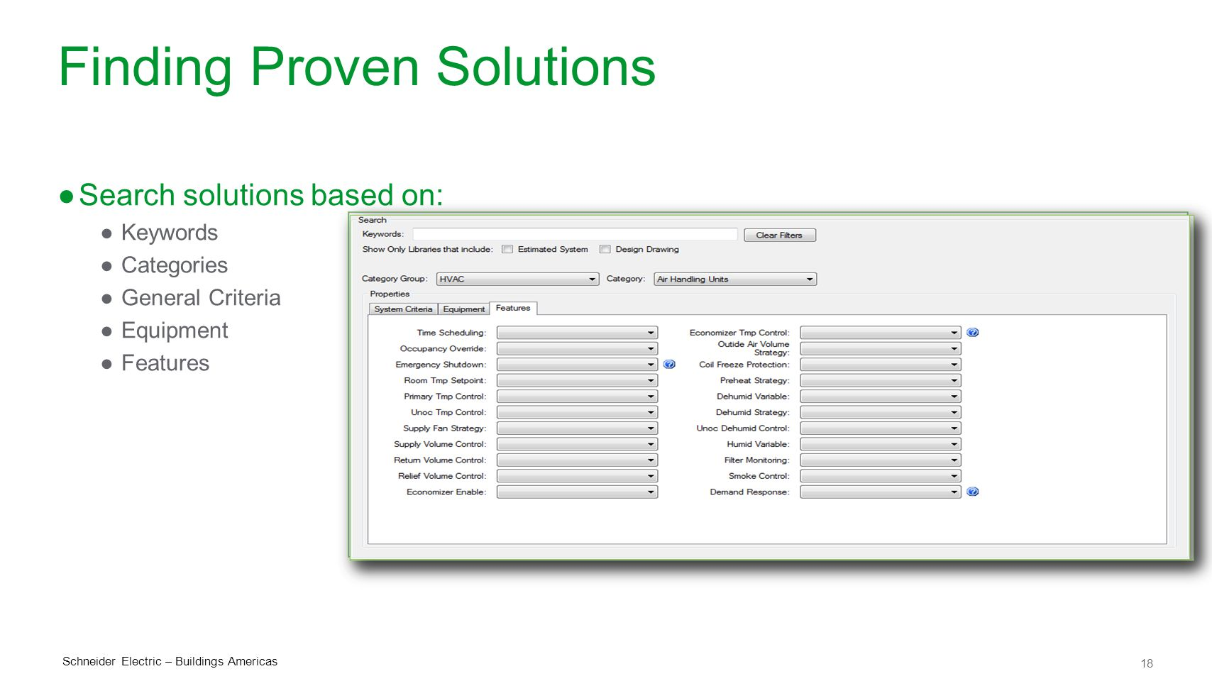 Finding Proven Solutions