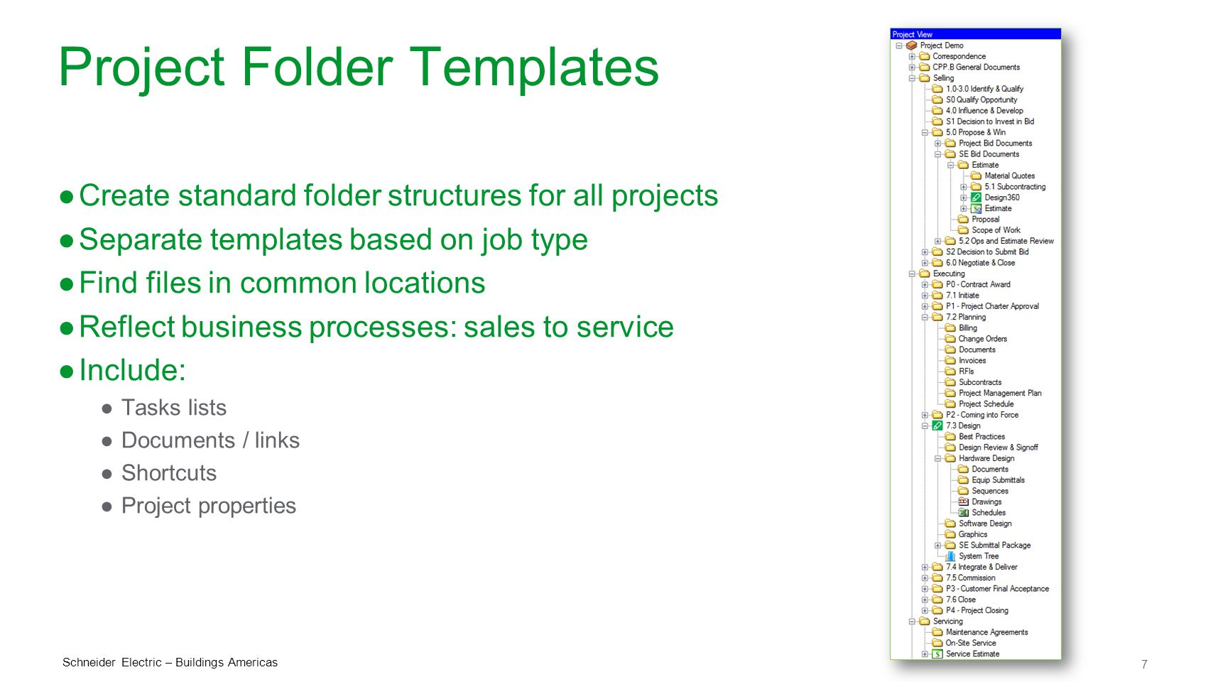 Project Folder Templates