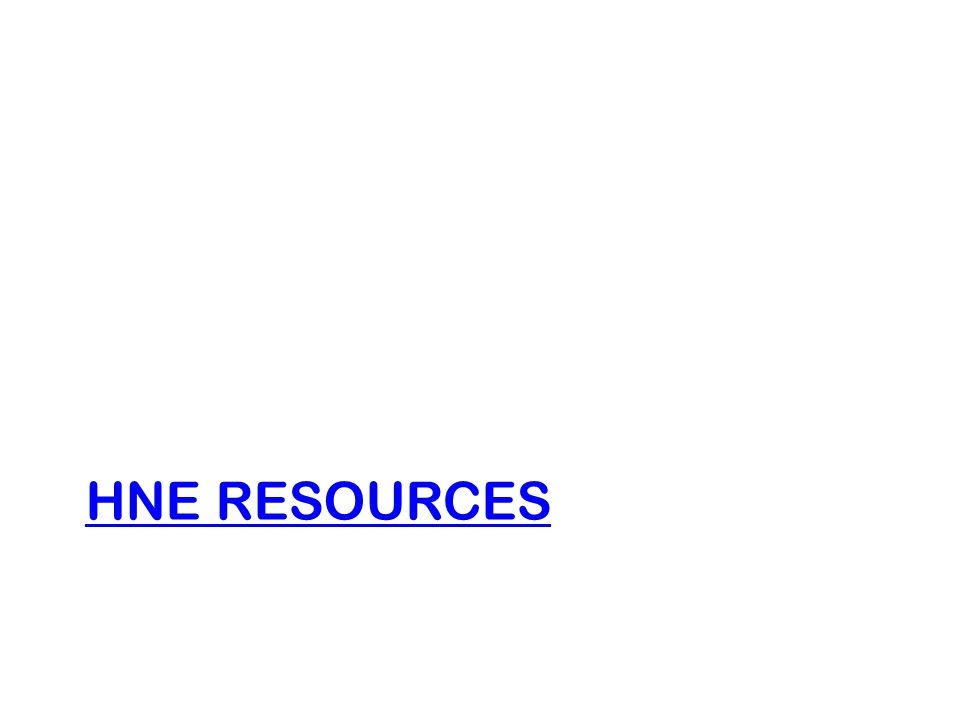 HNE Resources