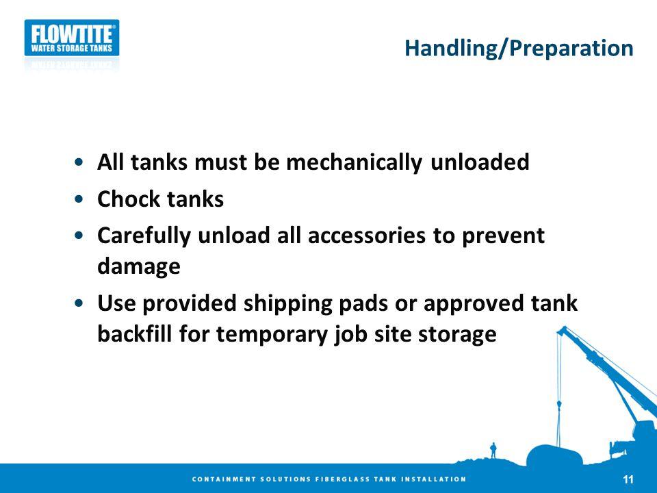Handling/Preparation