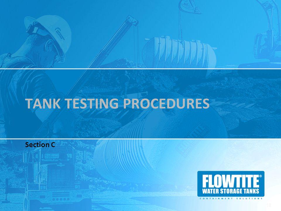 Tank Testing Procedures
