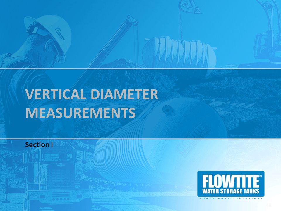 Vertical Diameter Measurements