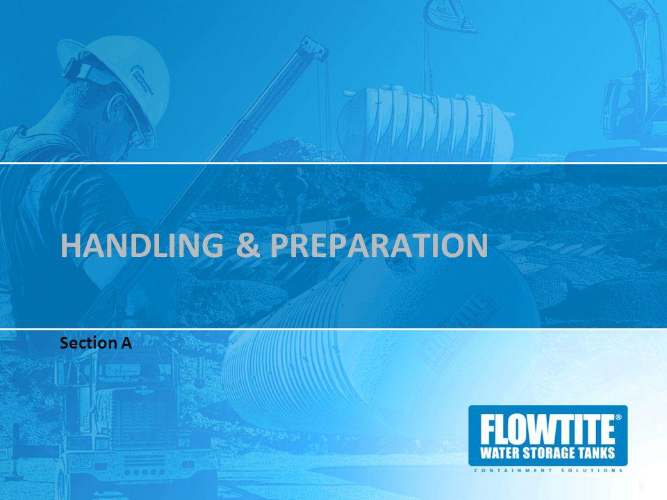 Handling & preparation