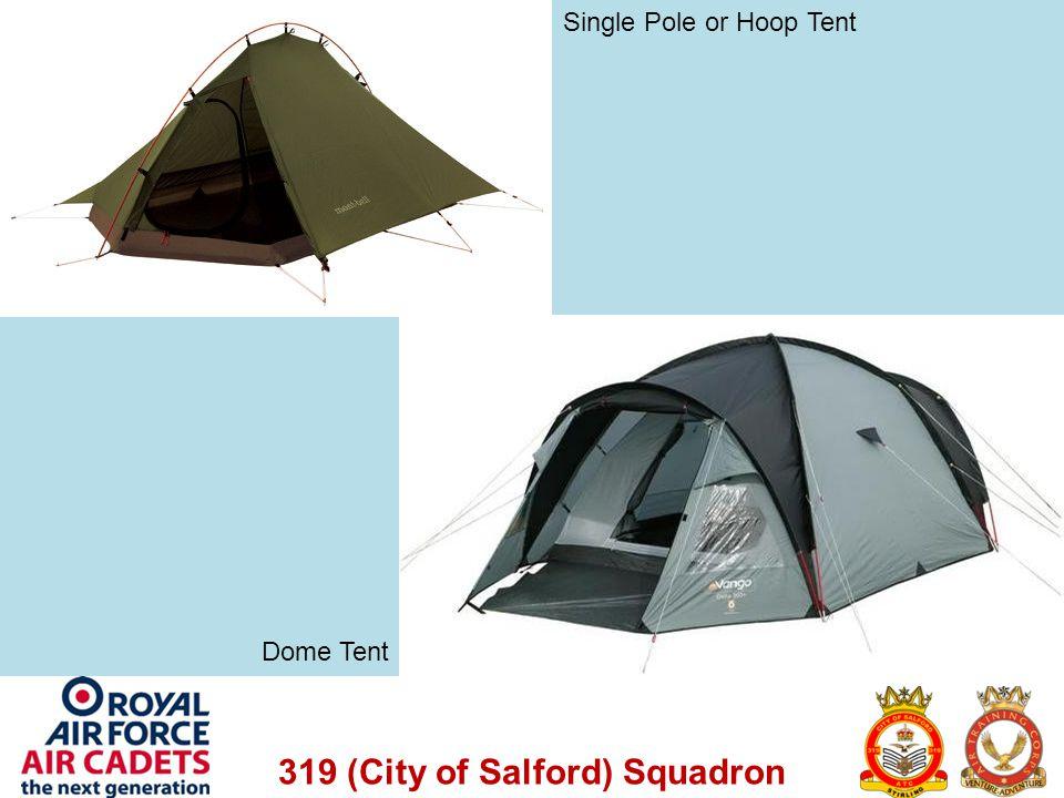 Single Pole or Hoop Tent