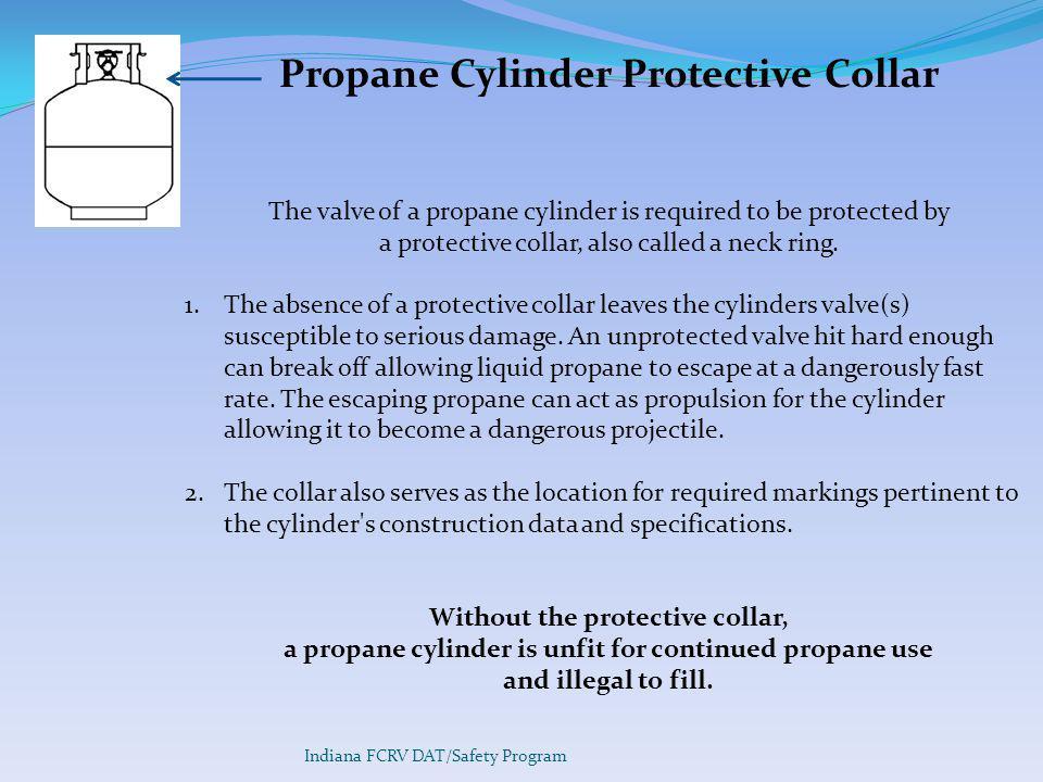 Propane Cylinder Protective Collar