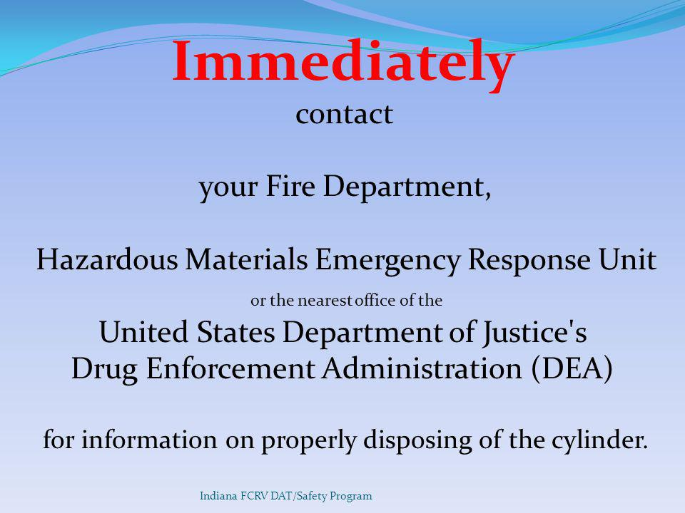 Immediately your Fire Department,