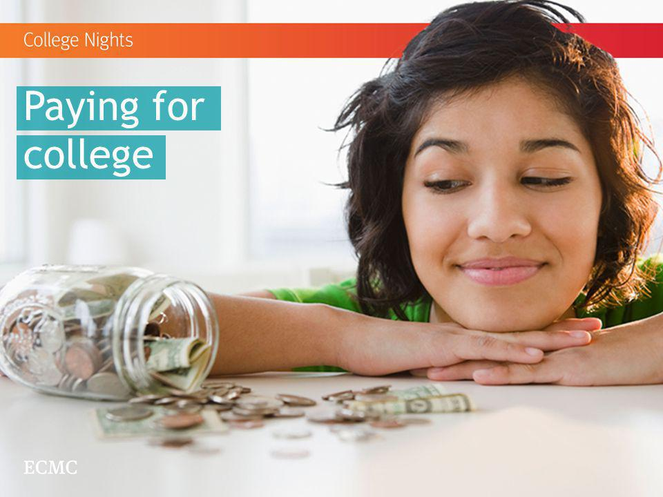 Paying for college This next segment is about Paying for College.