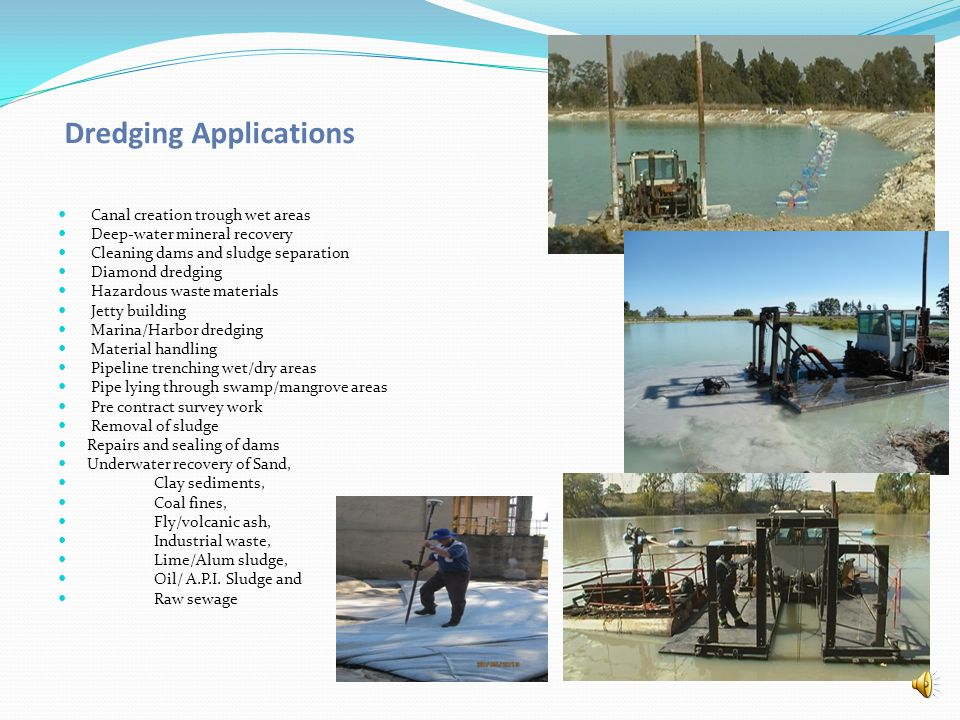 Dredging Applications