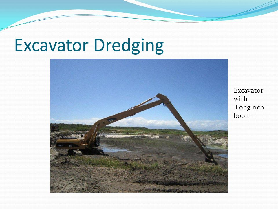 Excavator Dredging Excavator with Long rich boom