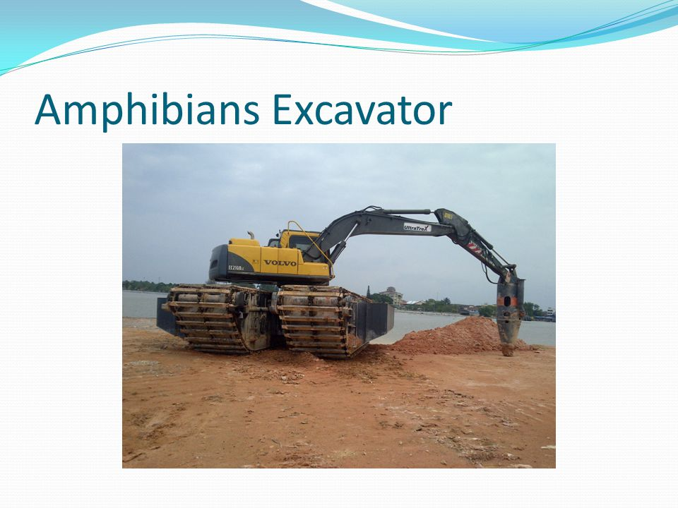 Amphibians Excavator