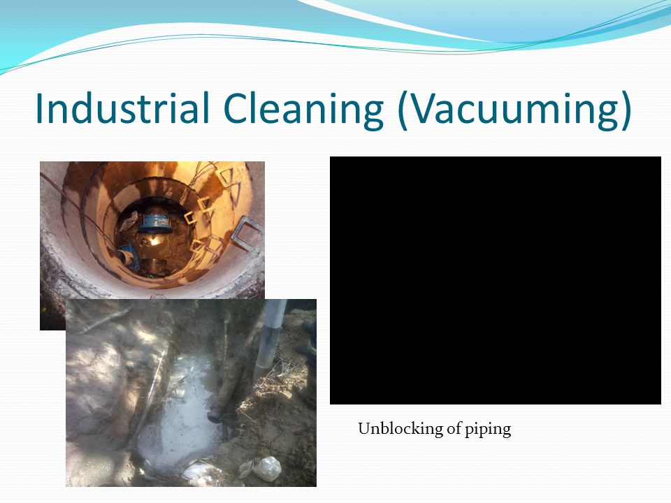 Industrial Cleaning (Vacuuming)