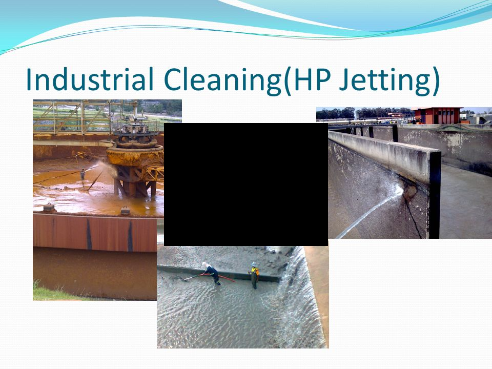 Industrial Cleaning(HP Jetting)