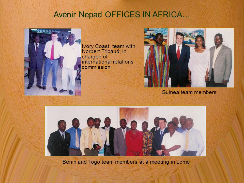 Avenir Nepad OFFICES IN AFRICA…