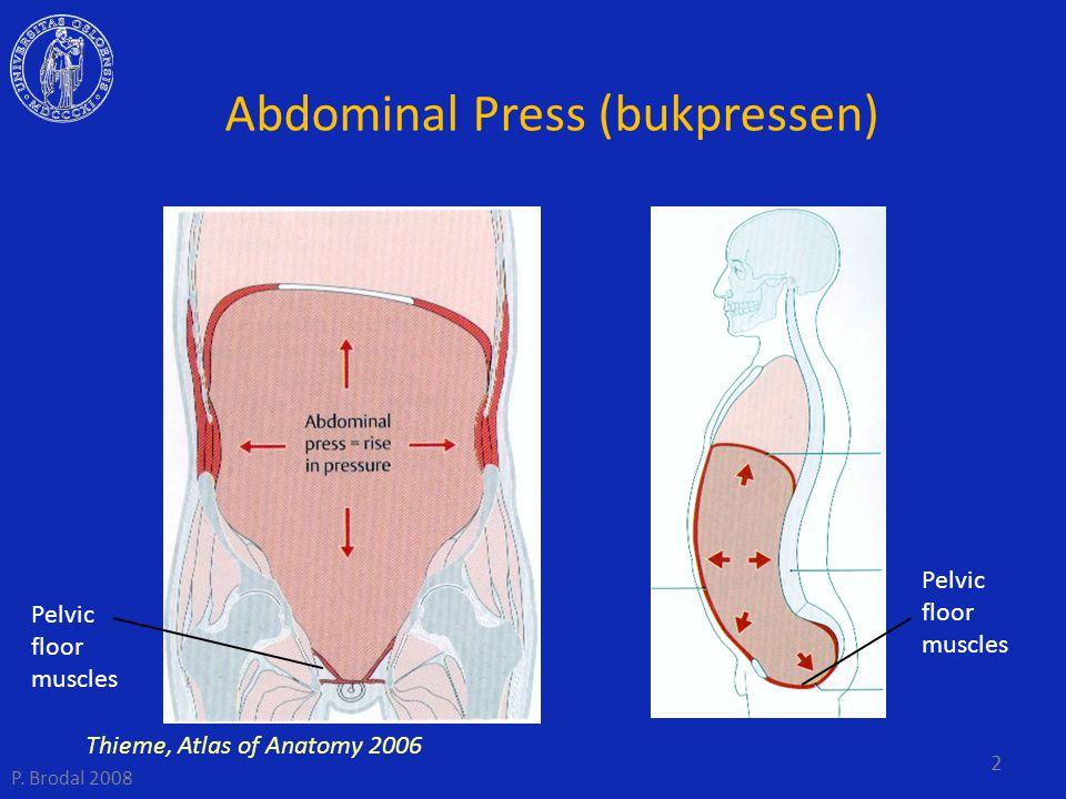 Abdominal Press (bukpressen)