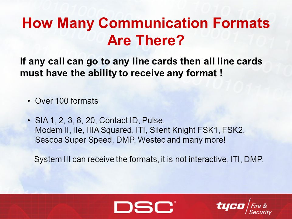 How Many Communication Formats Are There