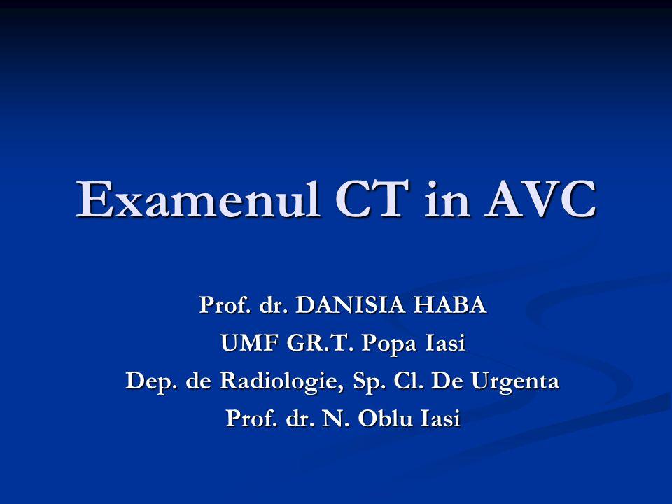 Dep. de Radiologie, Sp. Cl. De Urgenta