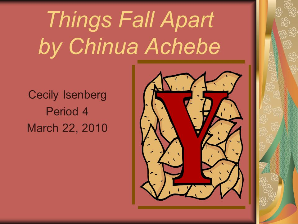 the importance of teamwork in things fall apart by chinua achebe Things fall apart study guide contains a biography of chinua achebe, literature essays, quiz questions, major themes, characters, and a full summary and analysis things fall apart study guide contains a biography of chinua achebe, literature essays, quiz questions, major themes, characters, and a full summary and analysis.