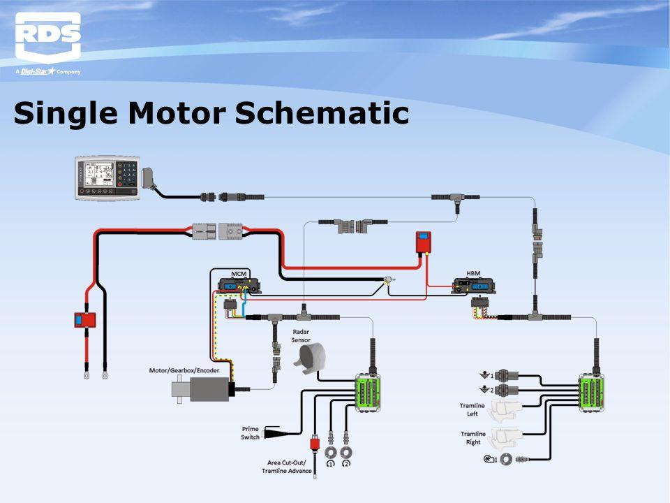 Single Motor Schematic