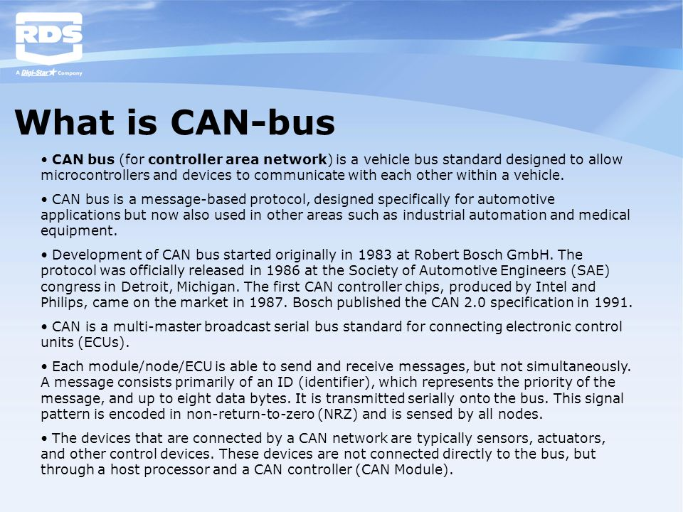 What is CAN-bus