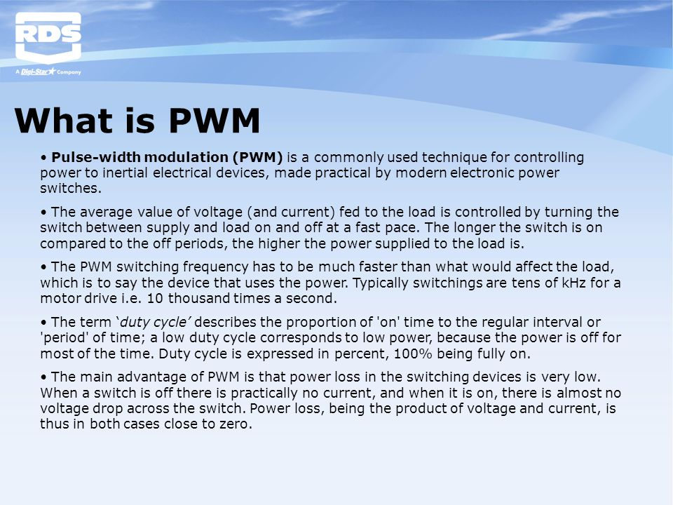 What is PWM