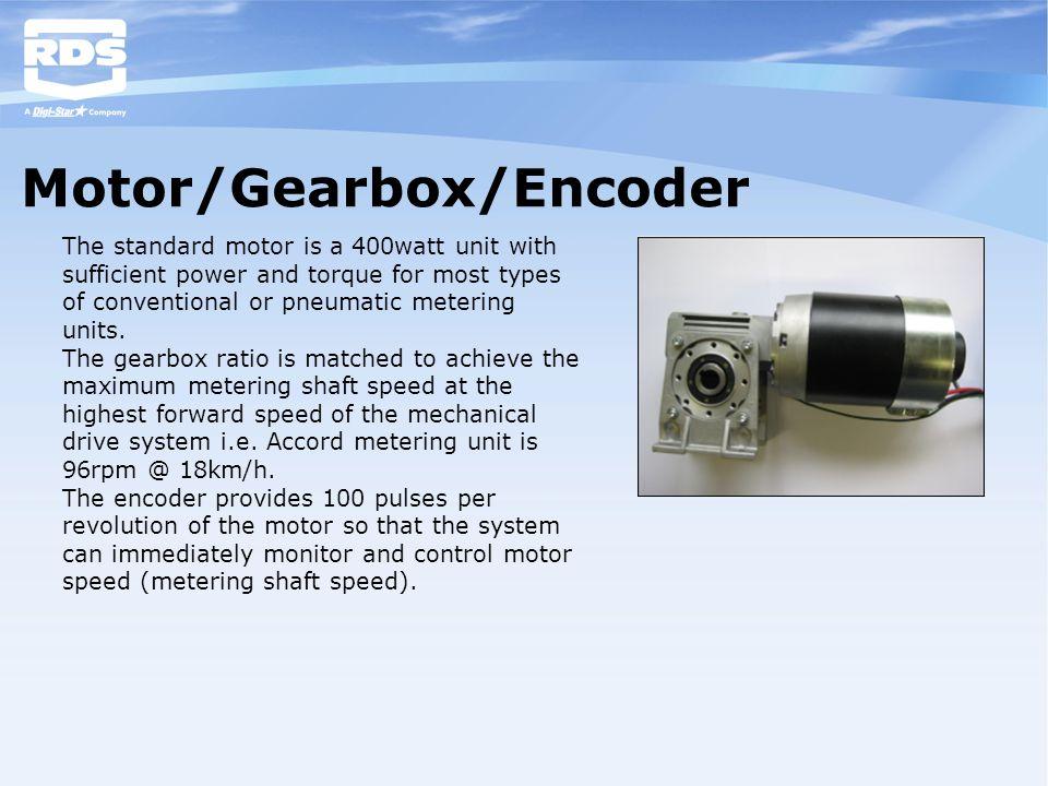 Motor/Gearbox/Encoder