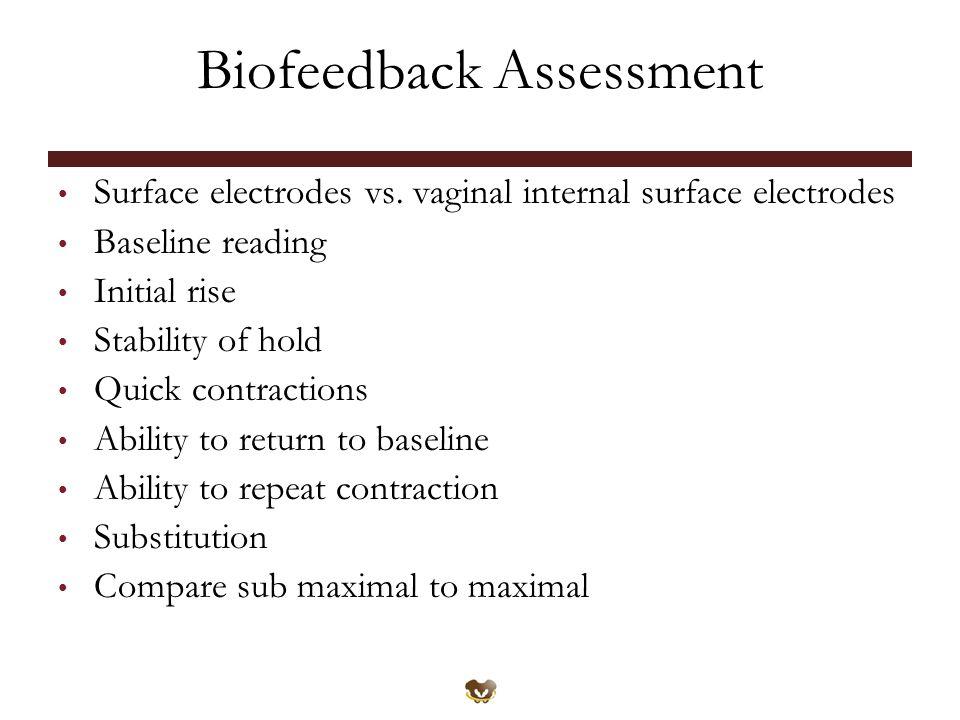 Biofeedback Assessment