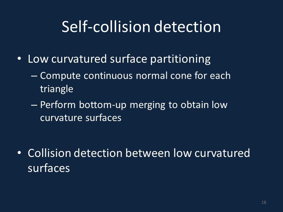 Self-collision detection
