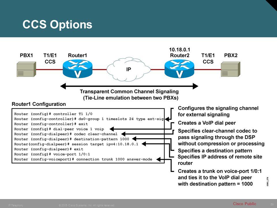 CCS Options