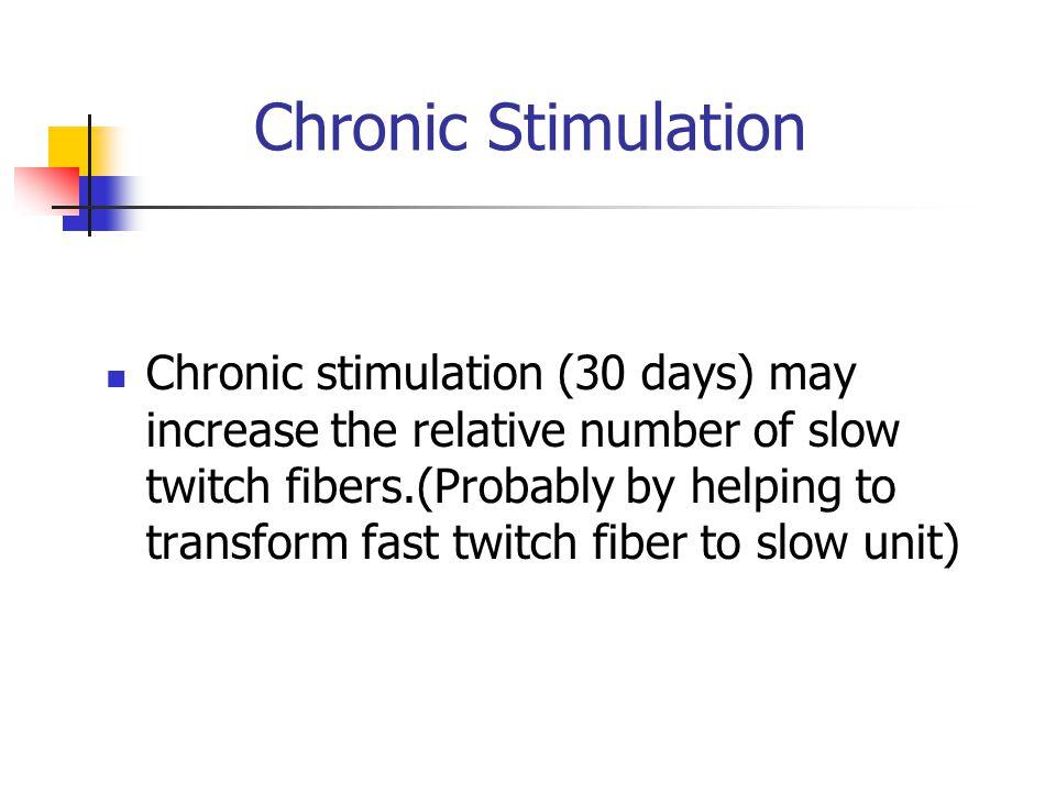 Chronic Stimulation