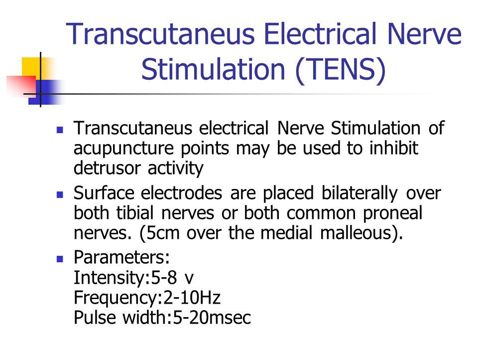Transcutaneus Electrical Nerve Stimulation (TENS)