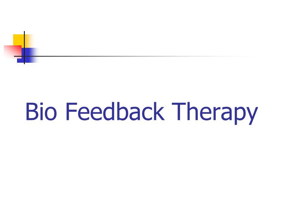 Bio Feedback Therapy