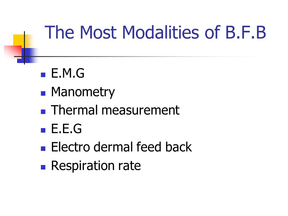 The Most Modalities of B.F.B