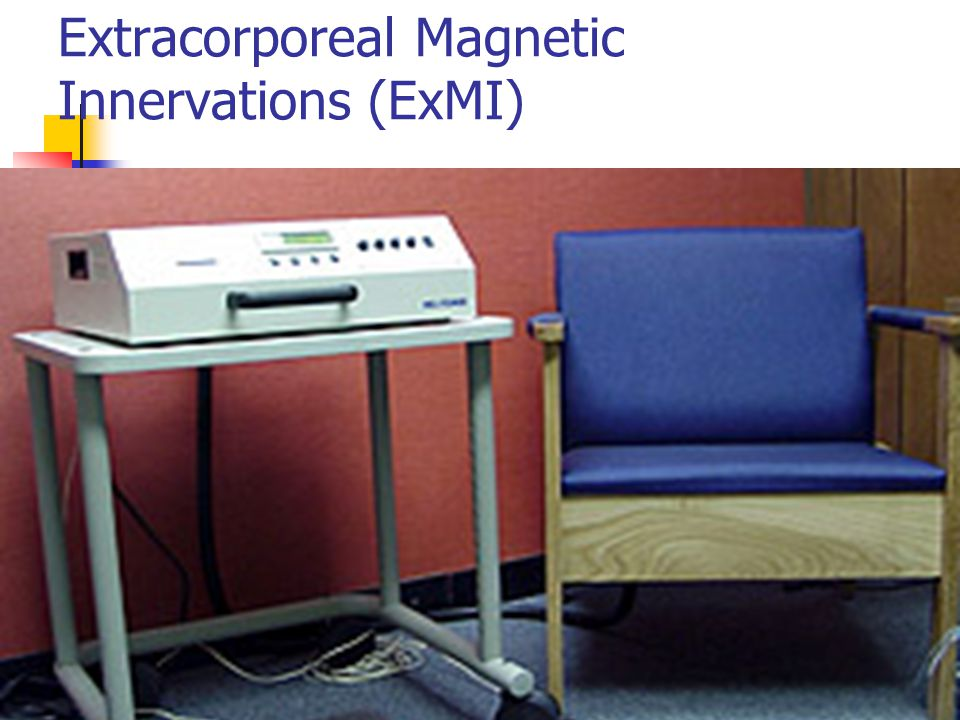 Extracorporeal Magnetic Innervations (ExMI)